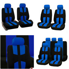 9Pcs Breathable Seat Cover Front/Rear Seat Mat Full Kit Pad 5-Seats Protector