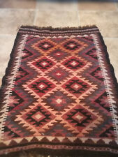 FINE BEAUTIFULLY COLOURED AFGHAN BALUCH CARPET, HAND WOVEN WOOL ON WOOL