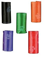 POO Bags x5 Rolls of 20 DOG POO BAGS Assorted Colours Waste Bags Pooper Scooper