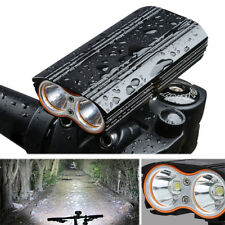 XANES DL06 1200LM 2XML-T6 150° Large Floodlight 6000mAh Battery Bicycle