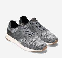 NIB Cole Haan Men's GrandPro Running Sneaker with Stitchlite Grey Knit C27764