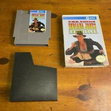 Nintendo NES The Young Indiana Jones Chronicles Game With BOX