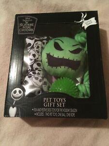 Disney Tim Burton's  The Nightmare Before Christmas -  Pet Toys Gift Set
