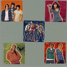 15 Camp Rock Glitter - Large Stickers - Favors - Jonas Brothers, Demi Lovato