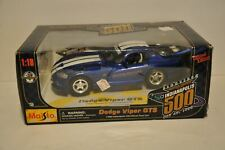 Maisto 1/18 Scale Diecast 1996 Dodge Viper Gts Pace Car Indianapolis 500