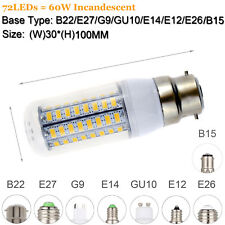 LED Corn Light E27 E26 E12 E14 G9 GU10 5W 7W 9W 12W 15W 18W 5730 SMD Bulb Lamps