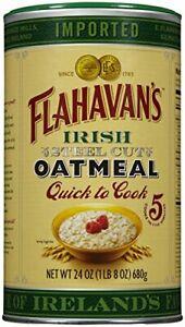 FLAHAVAN'S Quick To Cook Irish Steel Cut Oatmeal, 24 oz