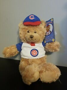 NWT Chicago Cubs Build-A-Bear 2009 game promotion bear
