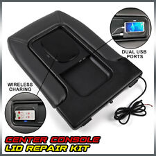 Usb Port Wireless Charger Center Console for 01-07 Chevy Silverado Gmc Chevrolet