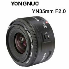 Yongnuo YN35mm EF 35mm Fixed Lens F/2.0 AF MF Wide Angle for Canon EOS