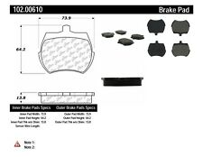 Disc Brake Pad Set-C-TEK Metallic Brake Pads-Preferred Front Centric 102.00610