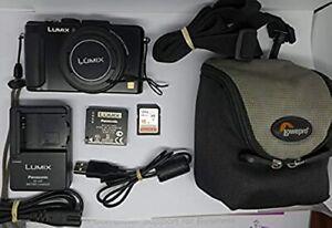 Panasonic Lumix DMC-LX7 10.1MP Compact Digital Camera  Black + 16 GB memory Card