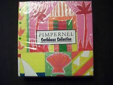 PIMPERNEL Drink Coasters Caribbean Collection Discontinued Rare NOS