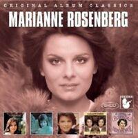MARIANNE ROSENBERG - ORIGINAL ALBUM CLASSICS 1971-1976 5 CD NEW!