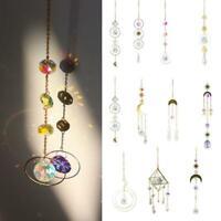 Rainbow Sun Catcher Hanging Crystal Suncatcher DIY Home Wedding Window N5R0