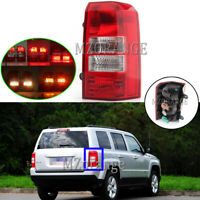 Right Driver Side For 2007-2017 Jeep Patriot Rear Tail Light Stop Fog Brake Lamp