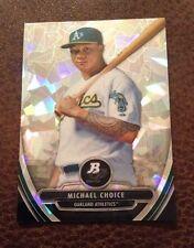 2013 Bowman Platinum Michael Choice Atomic Cracked Ice 1/5 eBay 1/1 Rangers