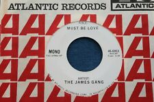 James Gang Rare Test Press 45 Must Be Love Atco 6953 Dj Promo Tommy Bolin Sleeve