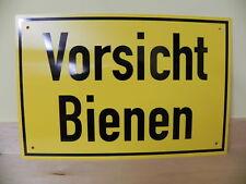 """Warnschild """"Vorsicht Bienen"""",30x20cm,Imkerei,Imker"""
