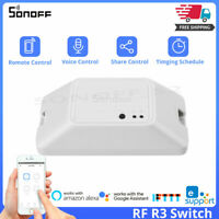 Sonoff RF R3 433MHz DIY Smart Home Switch Remote Control Wifi Work With Alexa