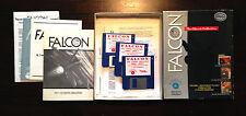 FALCON F-16 FIGHER SIMULATION + MISSION DISK 1 + 2 Mirrorsoft  Commodore Amiga