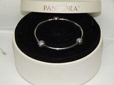 "New Pandora USB791119 Bangle Bracelet Gift Set You're A Star 7.5"" Box Included"