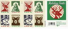 HOLIDAY KNITS STAMP BOOKLET -- USA, #4214B 41 CENT CHRISTMAS