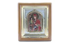 Mother Of God Three Hands Icons In Wood Frame  Божией Матери Троеручица Киот