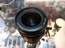 Voigtlander 21mm f1.4 Nokton for Leica M mount w/ Sony adapter