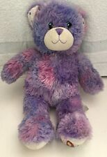 "BUILD A BEAR WORKSHOP WIZARDS OF WAVERLY PLACE BEAR 15.5"" STUFFED PLUSH PURPLE"