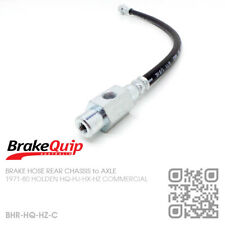 BRAKE HOSE REAR CHASSIS to DIFF [HOLDEN HQ-HJ-HX-HZ UTE/VAN/ONE TONNER/SANDMAN]