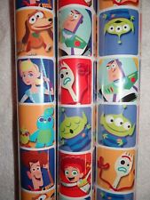 TOY STORY BUZZ WOODY WRAPPING PAPER ROLL GIFT WRAP ANY OCCASION 22.5 SQ. FEET