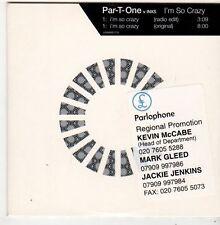 (FJ60) Par-T-One vs Inxs, I'm So Crazy - 2001 DJ CD