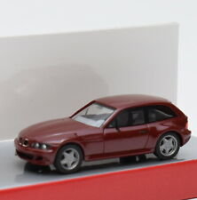 Herpa H0 022460 BMW Z3 Sportcoupe in weinrot, OVP, 1:87, G1/18