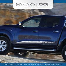 Nissan NP300 NAVARA Nismo GELÄNDE seitenstreifen aufkleber grafik