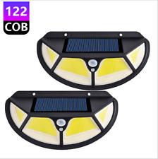 102/122 LED Wireless Solar Power Motion Sensor Light Outdoor 700LM Wall Light