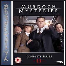 MURDOCH MYSTERIES SERIES 11 - COMPLETE SERIES 11 **BRAND NEW DVD