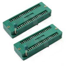 2 pcs New Universal 40P 40Pin ZIF ZIP DIP IC Test Tester Board Socket