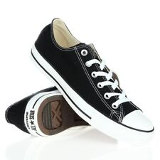 Men Women Ladies Black Converse  All Star  Low Top Chuck Taylor Trainers Shoes