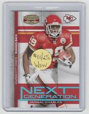 5b40d4e0 Serial Numbered Donruss Jamaal Charles Football Cards for sale   eBay