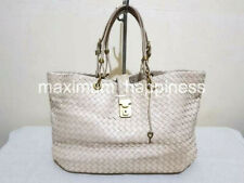 BOTTEGA VENETA INTRECCIATO MEDIUM CAPRI AURORA NAPPA LEATHER TOTE - AUTHENTIC
