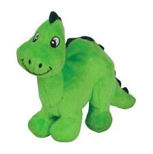 "NEW Green Dinosaur Plush Dog Toy ""Dino"" Tender-Tuffs TearBlok by Smart Pet Love"