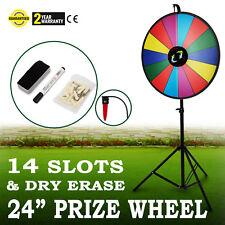 24 Glücksrad Spielzeug Farbe Rad Lotteriespiele φ61cm Einstellbar Vermögen Spiele
