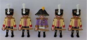 Playmobil    5 x Assorted Imperial Hussars Officers/Soldiers   Good Condition