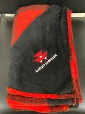 New Massey Ferguson Buffalo Plaid Ultra Plush Throw Blanket