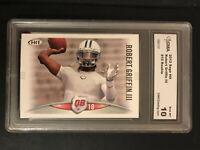 2012 Sage Hit Robert Griffin III RC GMA Graded Gem Mint 10 Football Card #10 NFL