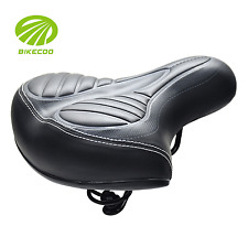 Extra Wide Soft Comfy Large Cushion Padded Comfortable Bicycle Bike Seat Saddle