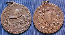 MEDAGLIA A.N.A. 53.a ADUNATA NAZIONALE DEGLI ALPINI GENOVA ANNO 1980 - BRONZO #1