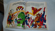 Marie Severin Personal Copy! 1966 Marvel Comics in ESQUIRE Marvelmania Stan Lee