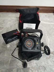 MarCum Marcum LX-3tci Sonar Flasher System, Red/Black Ice Fishing Fishfinder